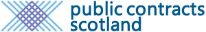 The Public Contracts Scotland Website